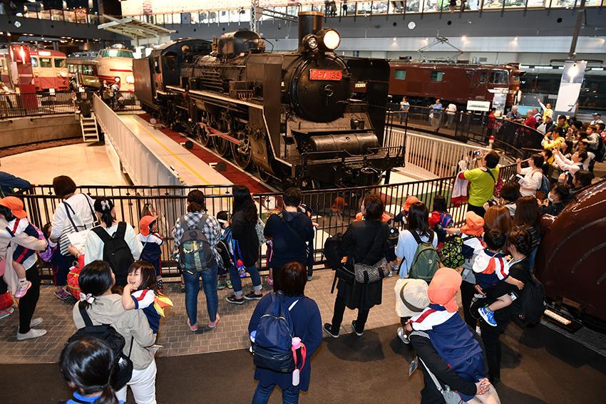 鉄道博物館親子遠足(3歳児・4歳児)