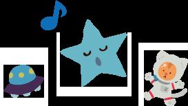星とUFO