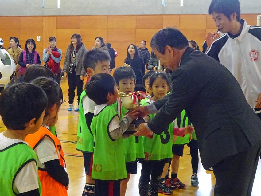 サッカー大会(連覇)