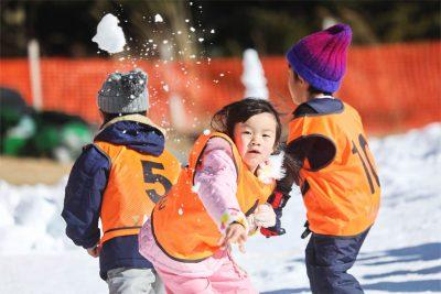 1月 雪遊び2